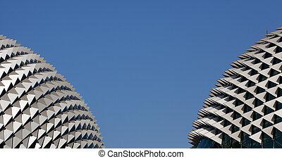 Roof of the Esplanade Theatre, Singapore