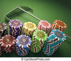 casino, pedacitos