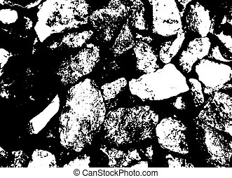Gravel vector texture
