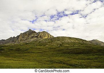 Rugged Alaska mountain