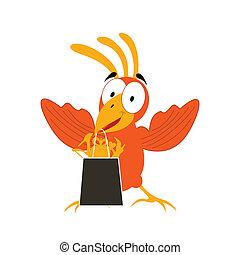 Animation a bird2