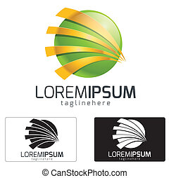 Company Logo - Dynamic logo concept,symbol illustration icon...