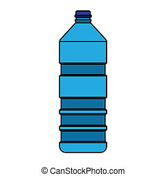 blue bottle vector - image of bottle vector isolated on...