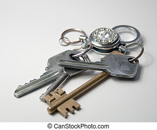 Bunch of keys on a ring