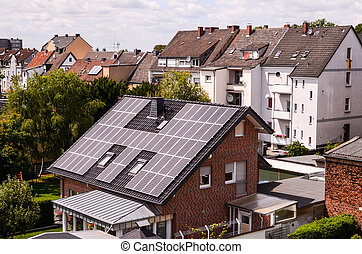 Green Renewable Energy with Photovoltaic Panels