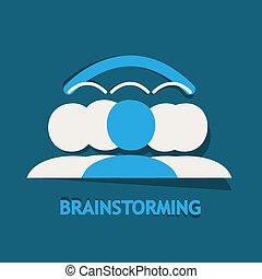Brainstorming, Sharing ideas