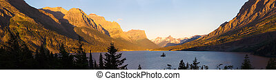 Lake in Glacier National Park