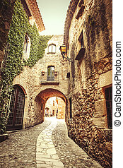 Pals - Costa Brava - This is one of the greatest street of...