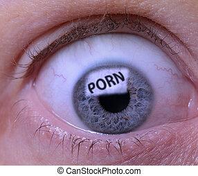 dépendance, porno
