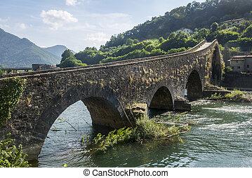 Ponte della Maddalena (Tuscany, Italy) - Ponte della...