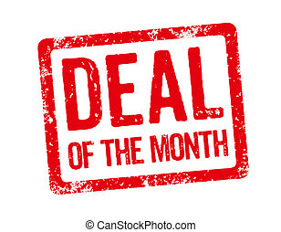 Red Stamp - Deal of the month
