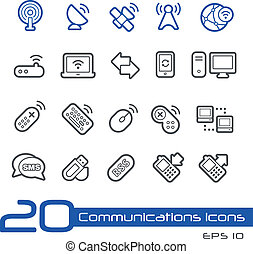 Wireless Communications Icons