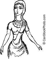 Indian girl