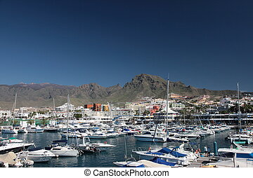 Canary Charter Yacht Club, Tenerife, Spain.