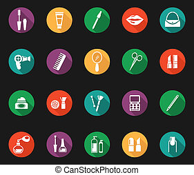 Colorful Hygiene and Grooming Graphic Symbols - Colorful...