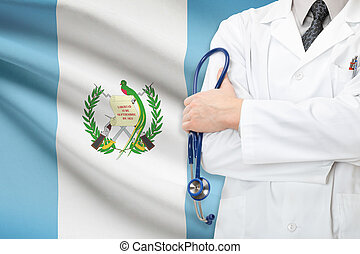 Concept of national healthcare system - Guatemala