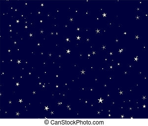 starry background - Beautiful starry background Vector...