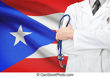 Concept of national healthcare system - Puerto Rico