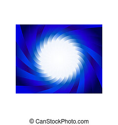 spiral background - Abstract vector spiral background for...