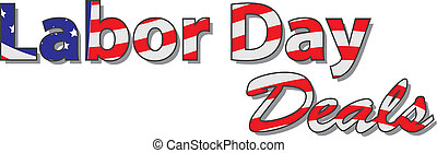 Labor Day Deals - Heading text labor day deals