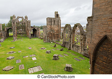 Medieval Cathedral of Elgin - Elgin Cathedral, a medieval...