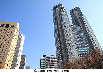 Skyscrapers in Shinjuku, Japan