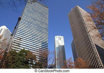 Skyscrapers in Shinjuku, Japan
