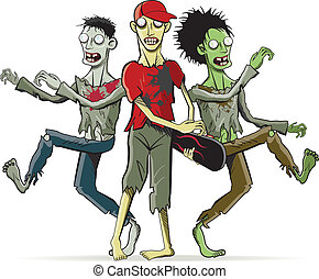 Zombies - Cartoon characters