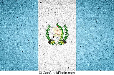 guatemala, bandera, papel, Plano de fondo