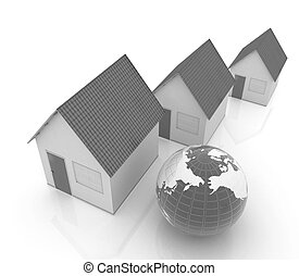 Houses and Earth