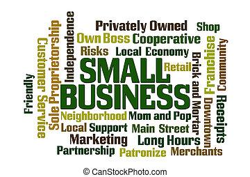 pequeno, negócio