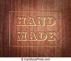 hecho, mano