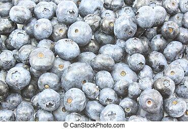Blueberries everywhere