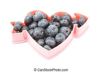 Heart Healthy Blueberries