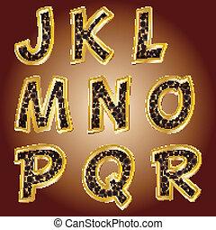 Leopard letters Vector - Leopard letters Vector Alphabet...