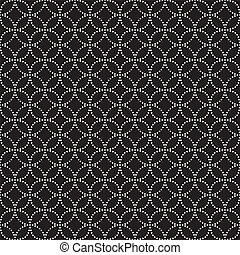 Vector seamless pattern. Modern stylish texture. Repeating...