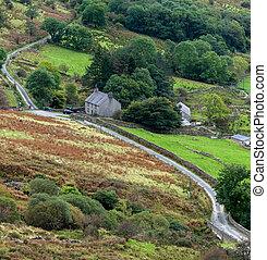 chata, krajowy,  Snowdonia,  Park