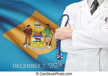Concept of US national healthcare system - state of Delaware