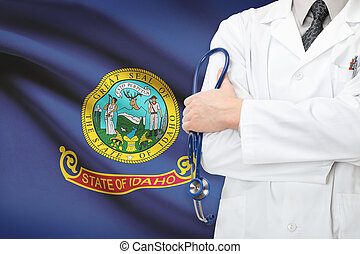 Concept of US national healthcare system - state of Idaho