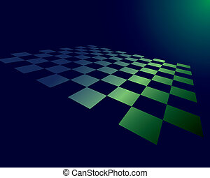abstract checked board - Abstract checked board whith...