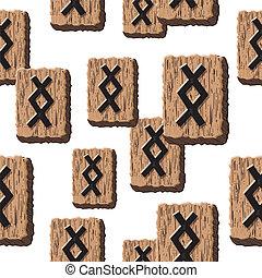 Rune Inguz vector - Rune Inguz. Abstract vector background...