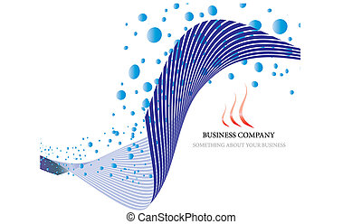 business theme - Abstract company page background for...