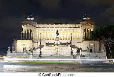 Vittorio Emanuele monument, Rome - Monument to Vittorio...
