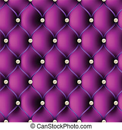 Seamless pattern upholstery, with pearls vector illustration...