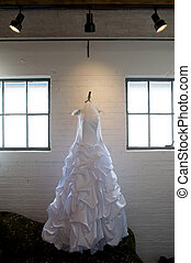 Wedding Dress and Windows