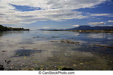View of Bantry Bay County Cork - Looking West from Gerahies...