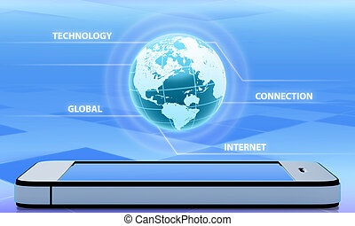 Abstraction wireless technology and global communication...