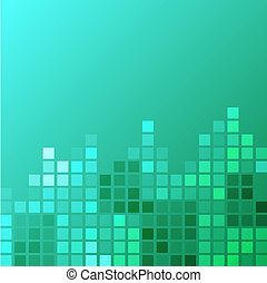 Square clean background - Turquoise squar clean background...