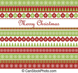 Christmas greeting card - Vector Christmas greeting card...