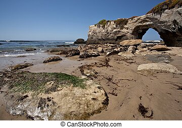 California beach - Lighthouse Field State Beach is a...